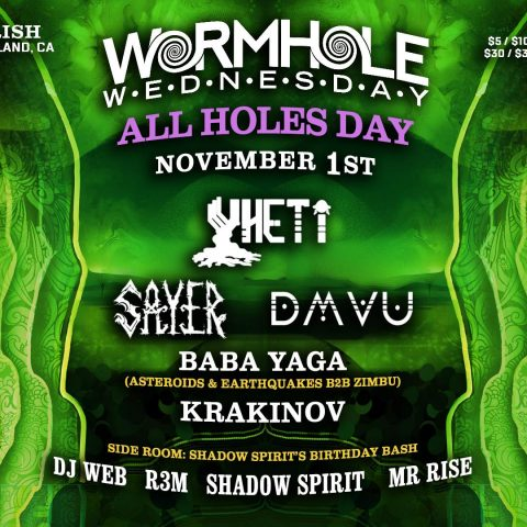 All Holes Day Flyer